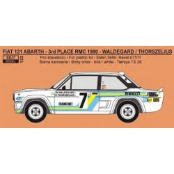 Fiat 131 Abarth Svenska...