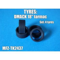 """DMACK tyres 18"""" tarmac"""