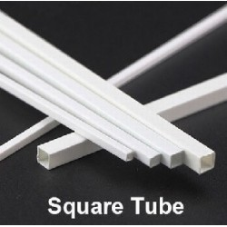 Square Tube 6x6 mm 3pc
