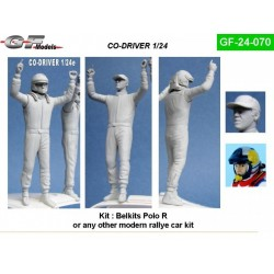 Co-Driver rally modern