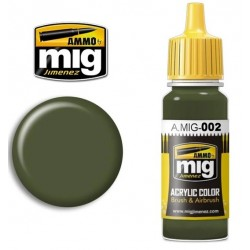 RAL 6003 Olivgrün opt.2