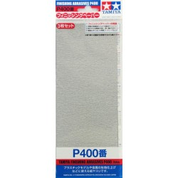 Finishing Abrasives P400 3pc