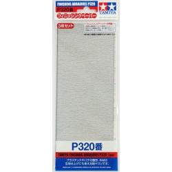 Finishing Abrasives P320 3pc
