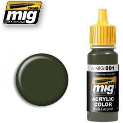 RAL 6003 Olivegrün Opt I dark