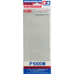 Finishing Abrasives P1000 3pc