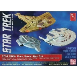 Star Trek Deep Space 9 3 ship